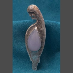 Native American Silver Pendant Anthony Lovato