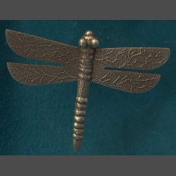 Native American Silver Dragonfly Pendant Pin Anthony Lovato