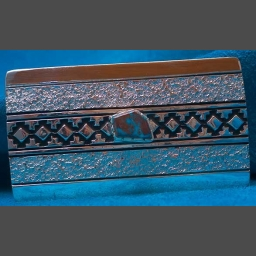 Native American Silver Bisbee Turquoise Belt Buckle Philbert Begay