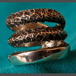 Charles Loloma Design Silver Ring by Matthew White