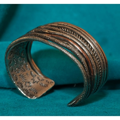 Robert MacEustace Jones Silver Copper Bracelet