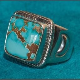 Al Joe Royston Turquoise Ring