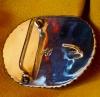 Elliot Qualo Vintage Zuni Turquoise Belt Buckle