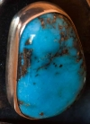 Aaron Anderson Morenci Turquoise Bracelet