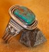 Fox Turquoise Bracelet by Albert Lee