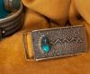 Edison Cummings Bisbee Turquoise Bracelet