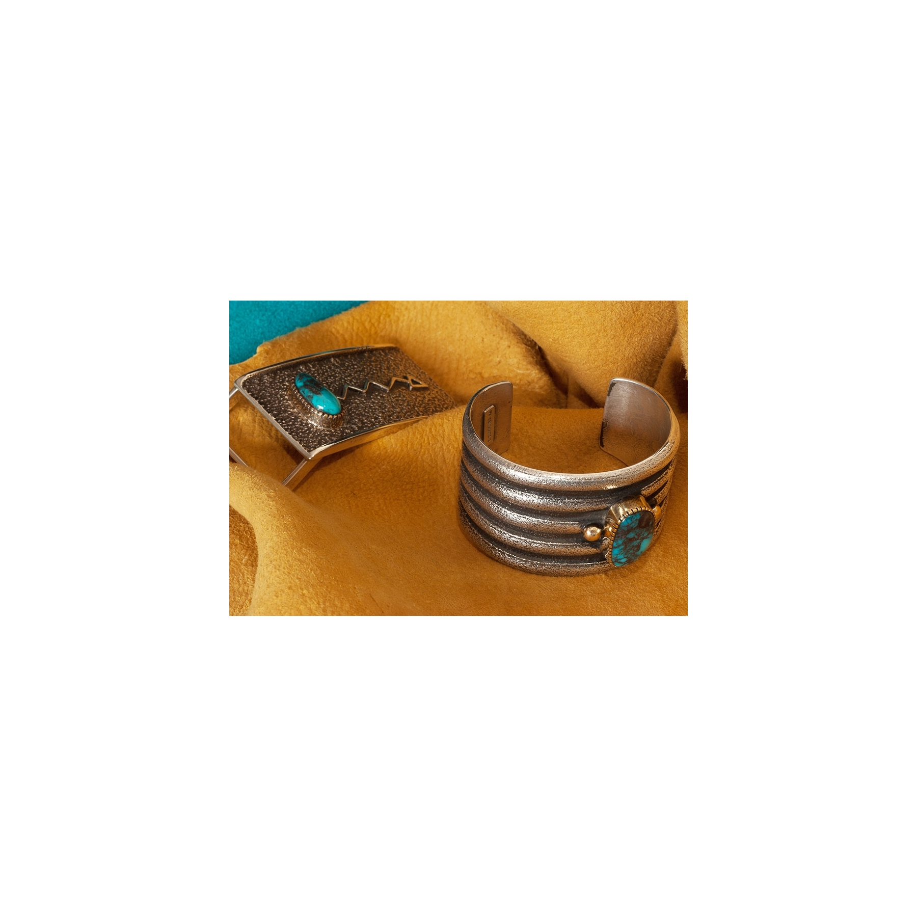 Edison Mings Bisbee Turquoise Bracelet