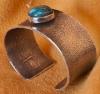 Gerald Lomaventema Lone Mountain Turquoise Bracelet