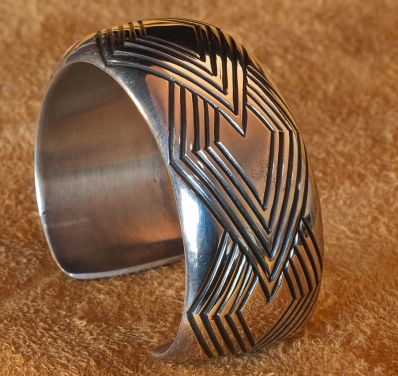 EG Bighand Silver Bracelet