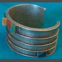 Turquoise Bracelet Native American by Olin Tsingine