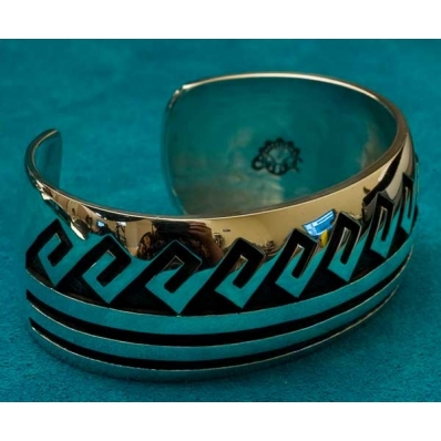 Native american Bracelet by Berna and Anderson Koinva
