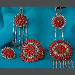Lee and Mary Weebothee Zuni Jewelry