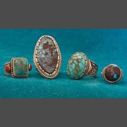 Southwest Turquoise Rings