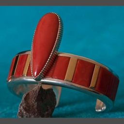 Coral Bracelets handmade Native American
