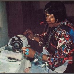 Della Casa (Casi) Appa Zuni Silversmith