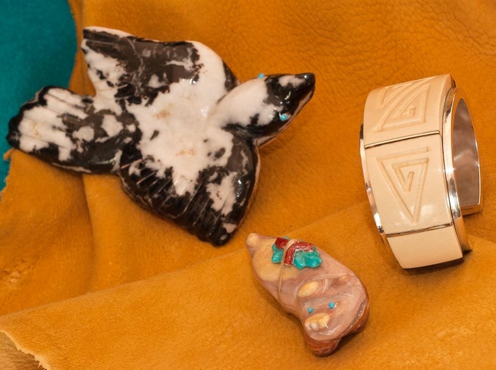 Zuni Fetish Carvings