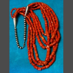 Native american jewelry coral necklaces sedona indian jewelry coral necklaces mozeypictures Image collections