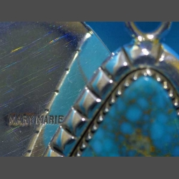 Mary Marie Yazzie Silver Beads