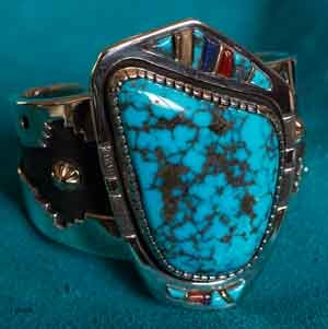 Wes Willie Morenci Turquoise Bracelet
