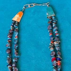 Wes Willie Bisbee Turquoise Necklace