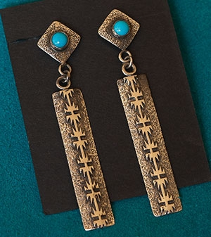 Bryan Joe Turquoise Earrings